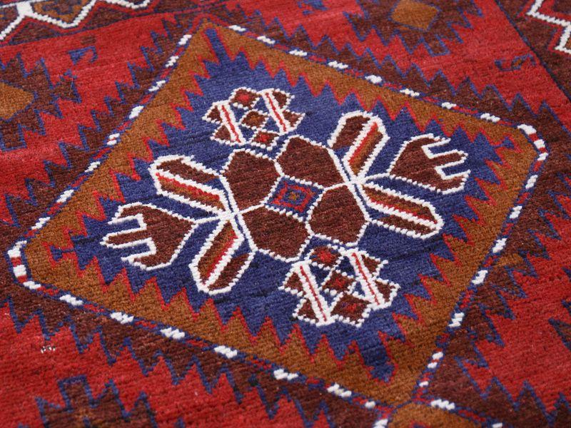 ヴィンテージラグ バルーチ / アフガニスタン / 1990年代 / 87cm x 116cm / ORp-2009016 デザイン
