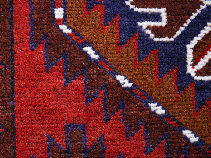 ヴィンテージラグ バルーチ / アフガニスタン / 1990年代 / 87cm x 116cm / ORp-2009016 アップ