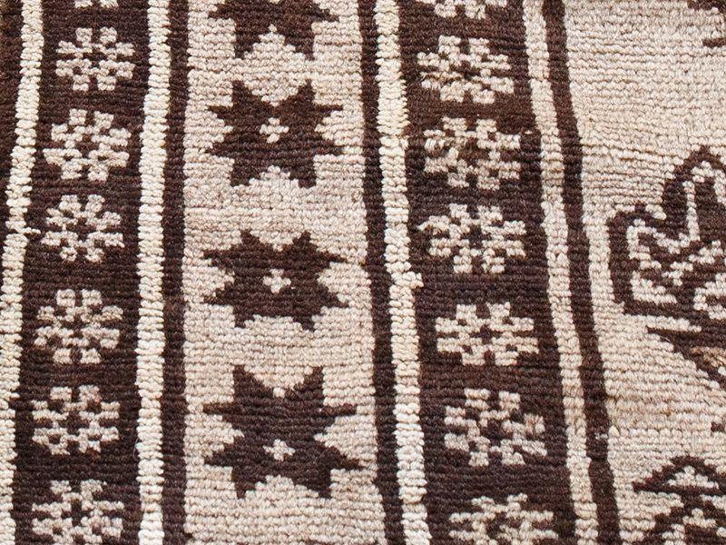 ヴィンテージラグ ノマド / アフガニスタン / 1960年代 /  140cm x 233cm / ORq-2009017 アップ