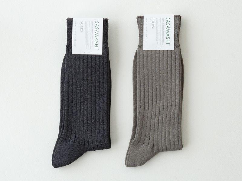 和紙の靴下 メンズ