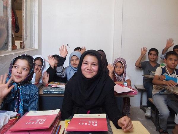 子供たちの支援活動 笑顔の子供たち