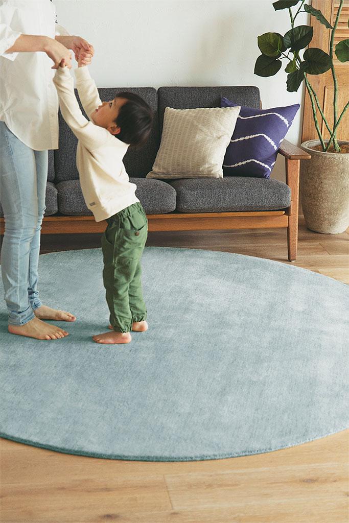 シルクブルー 150circle (約150cm 円形)