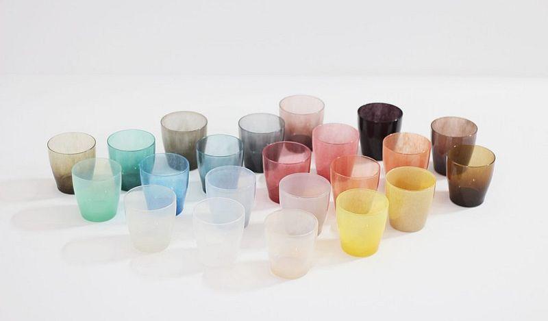 カラフルなグラス