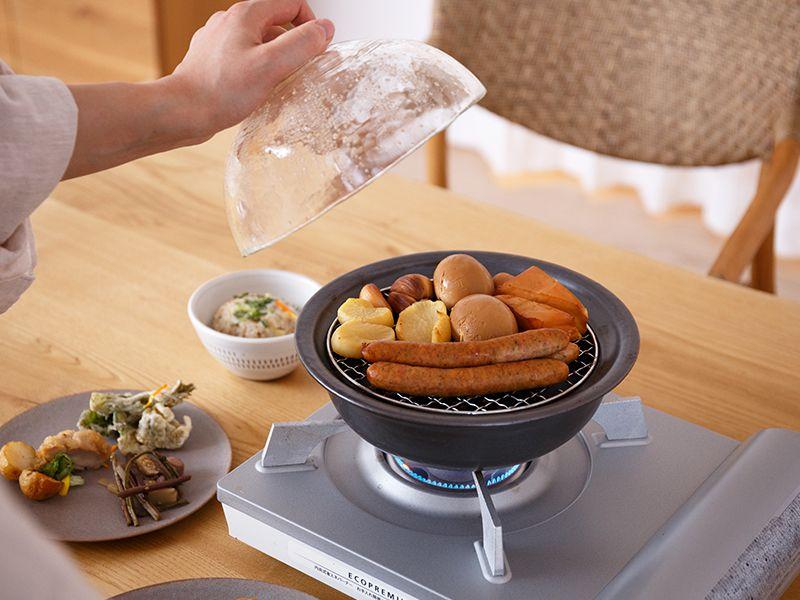 燻製鍋をお家で手軽に