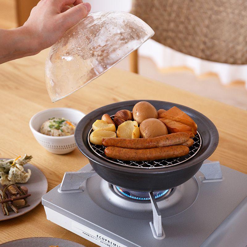 燻製もできる万能鍋 使用例
