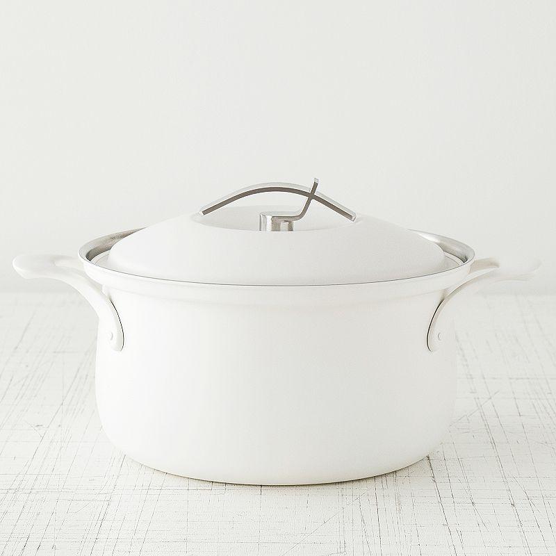 ステンレス鍋 ホワイト