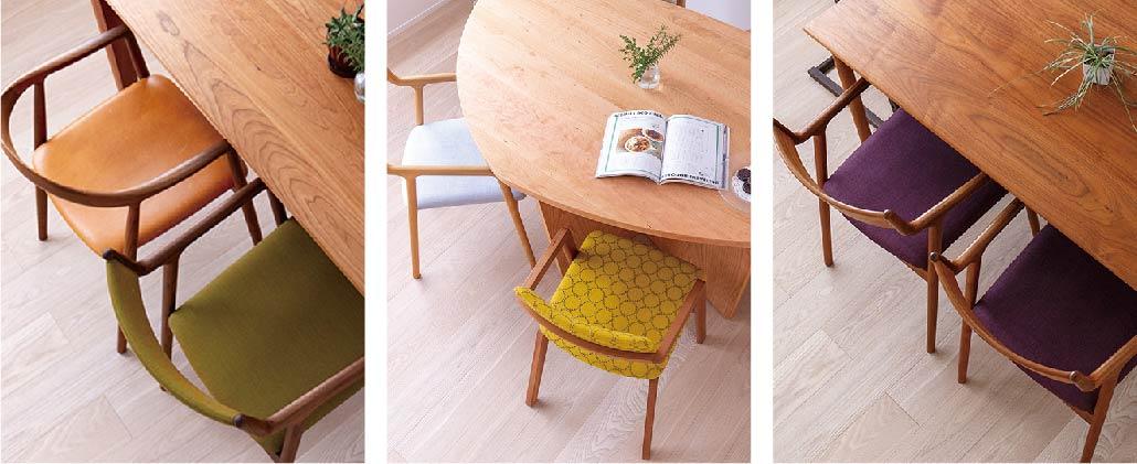 木製椅子一覧